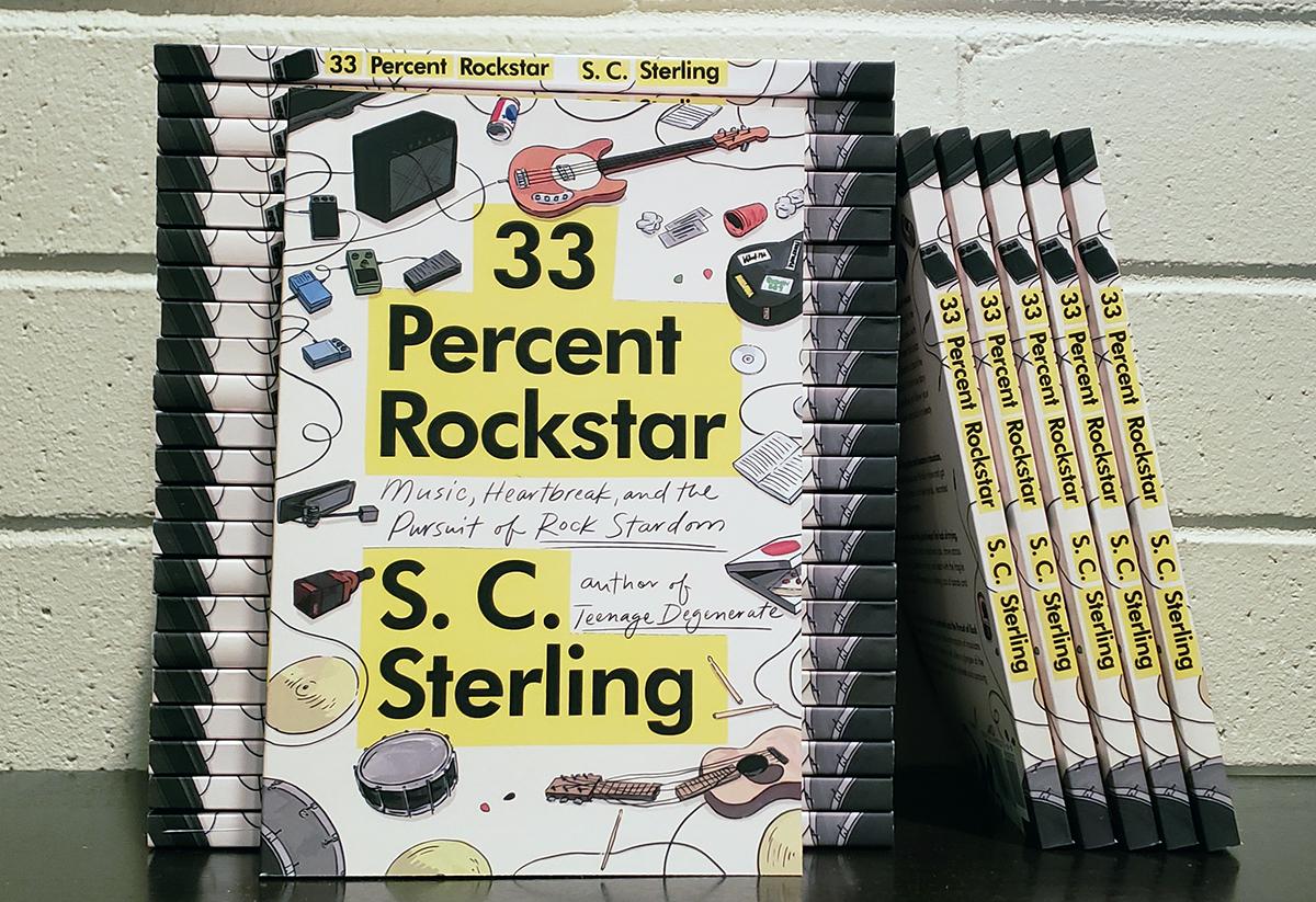 33 Percent Rockstar Cover