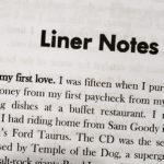 33 Percent Rockstar Liner Notes