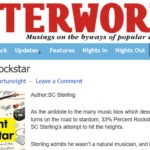The Afterword Review of 33 Percent Rockstar