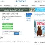 33 Percent Rockstar Review from Kirkus Reviews