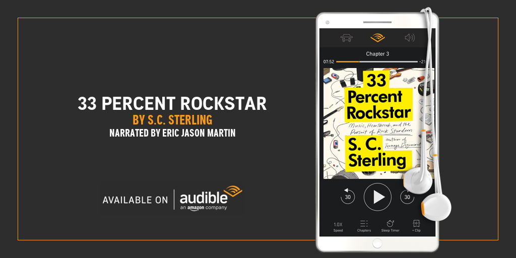 33 Percent Rockstar Audiobook - Music Auotbiography