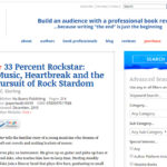 33 Percent Rockstar Starred Review from BlueInk Reviews